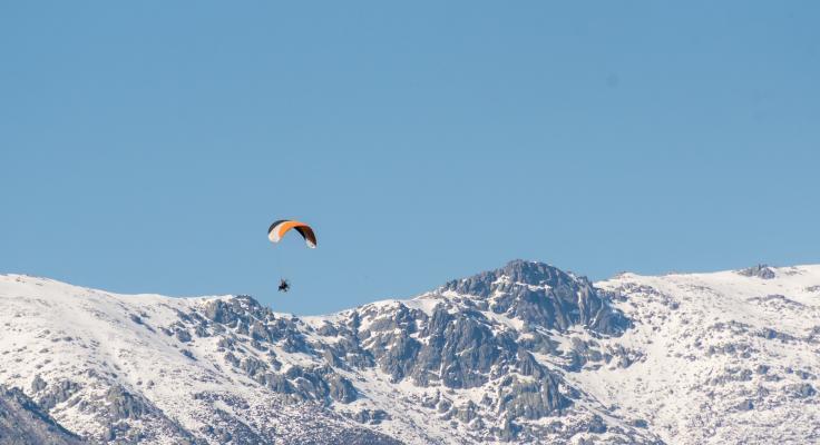 Sierra de Gredos in de winter