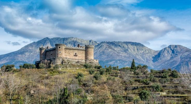 Het kasteel van Mombeltrán